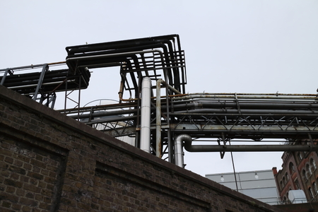 industrial: Industrial pipes