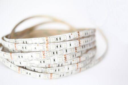 LED strip light Stock Photo