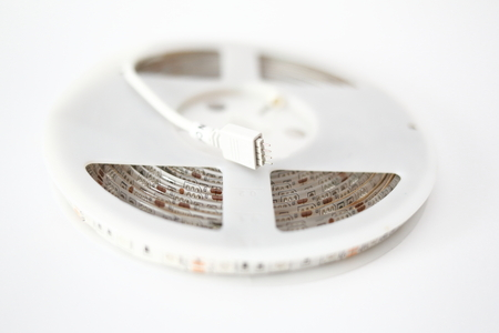 LED strip light Stock Photo