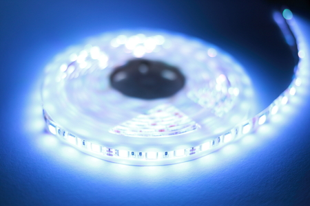 White LED strip light