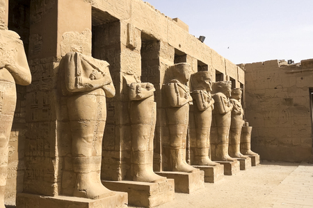 Statues of other Egypt. With the temple monuments megaliths