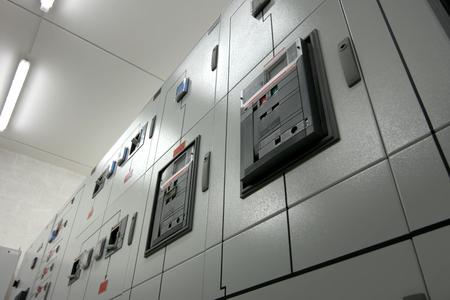 Luxembourg, Luxembourg - September 24, 2017: Equipment on the shelves is the data center. Server date centers Redakční