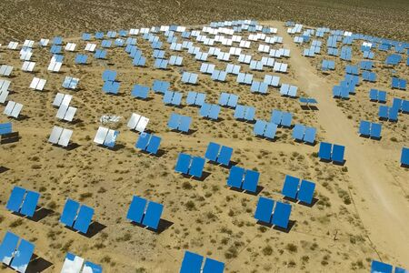 Solar panels. Solar energy An alternative source of energy is solar panels. Standard-Bild