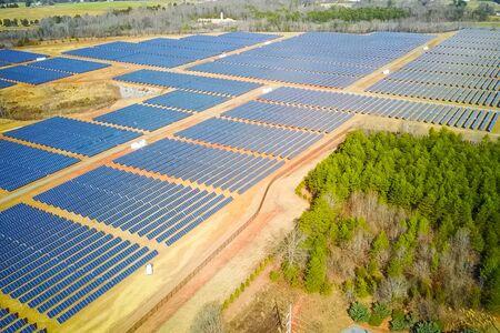 Solar panels. An alternative source of energy. Renewable energy source. Stockfoto