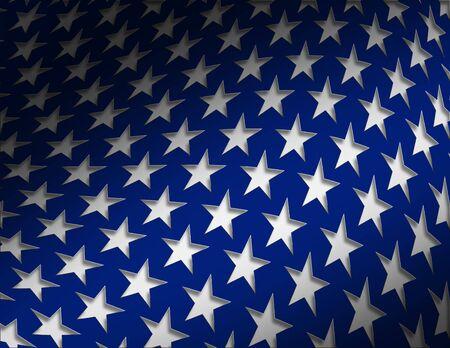 convention: Patriotic Star Background