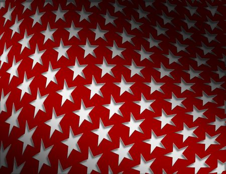 congress: Patriotic Star Background