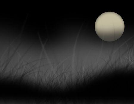 Spooky black field background