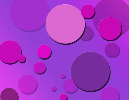 Berry Colored Polka Dot Background photo