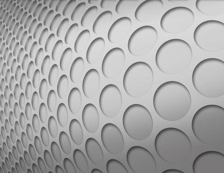 Silber invertiert Kreise Muster
