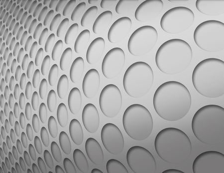 inverted: Silver inverted circles pattern
