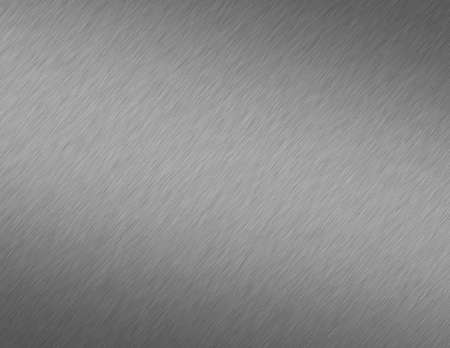 Brushed Steel Metal Background Stock Photo