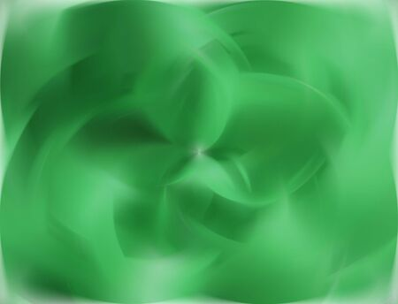 kelly green: Bright Green Spinning Blurred Abstract
