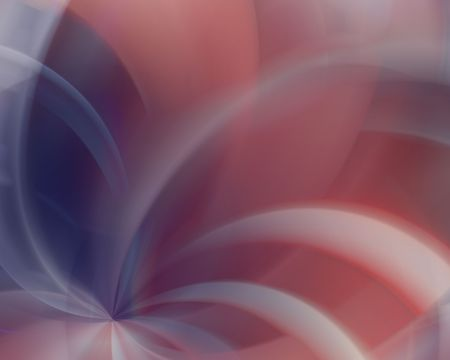 elect: Red white & blue abstract blur