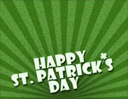 St. Patricks Day Background Stock Photo