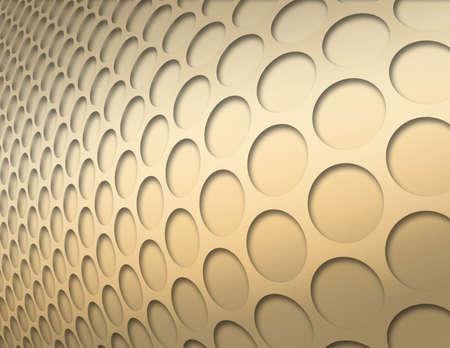 Gold Kreise Zusammenfassung Hintergrund