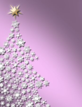 Sweet Christmas Tree Background Stock Photo - 2981762