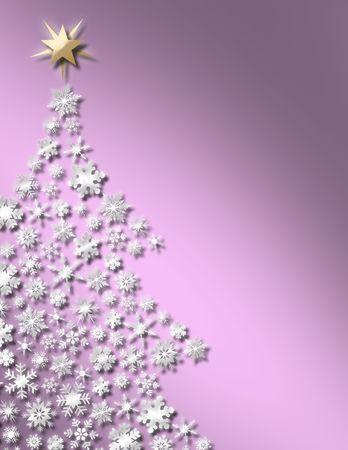 Sweet Christmas Tree Background Stok Fotoğraf
