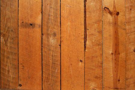 holzvert�felung: Rustikale Holz verstr�men Lizenzfreie Bilder