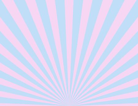 Pink andamp,amp, blue sunburst pattern background Reklamní fotografie