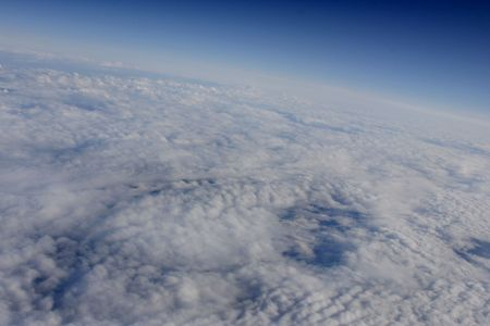 atmospheric: Atmospheric cloudy view Stock Photo