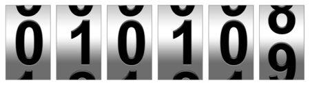 January 1, 2009 dial Фото со стока