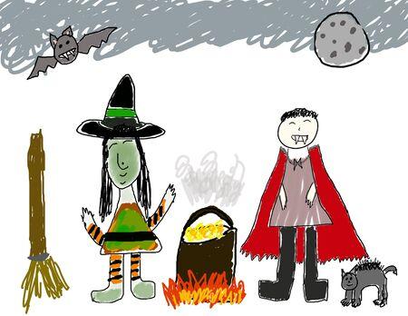 caldron: Halloween party