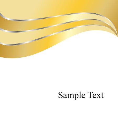 Vector Golden Waves