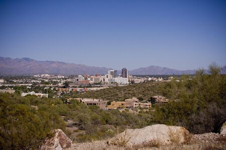 Downtown Tucson, Arizona Stock Photo