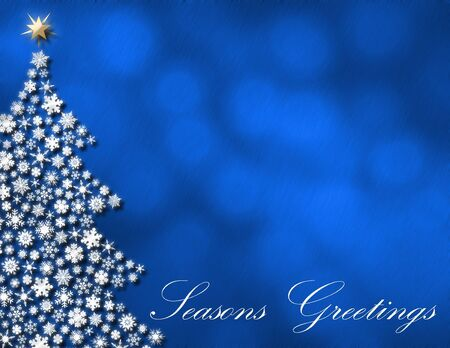 Seasons Greetings winter background