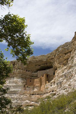 dwelling: Montezumas Castle Cliff Dwelling Editorial