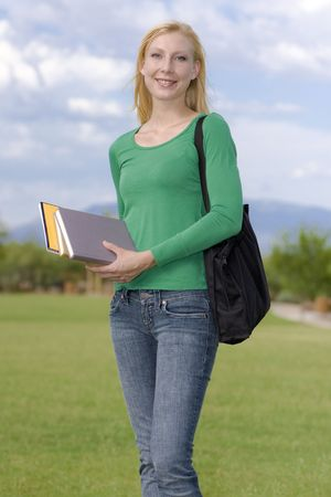 Adult returning back to school photo