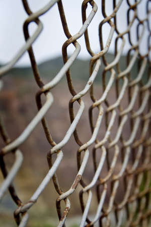 wire fence: Exterior border fence