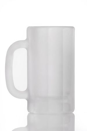 barware: Frosty Empty Mug