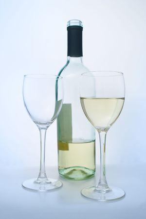 connaisseur: Un bicchiere di vino bianco qulity.