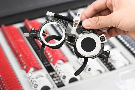 diopter: El universal-messbrille conjunto es un instrumento importante de los optometristas y oculists.
