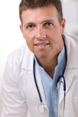 Portrait of medical professional at doctors room. Stock Photo - 4153307
