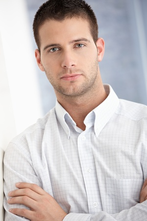 Portrait of handsome young man. Stock Photo - 8747361