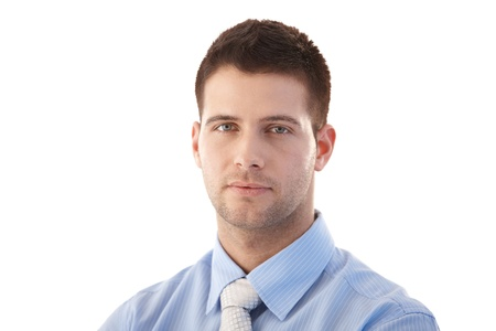 Portrait of handsome, young businessman. Stock Photo - 9537992