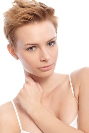 gingerish: Portrait of modern young gingerish woman.