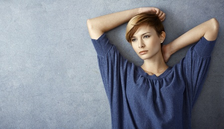 gingerish: Portrait of attractive young woman looking serious