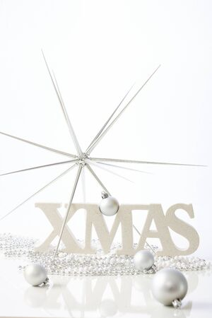 pure: Pure christmas decoration in white.