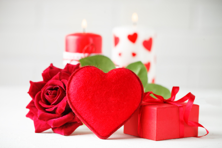 Valentines day card. Mothers day. Selective focus, Stock Photo