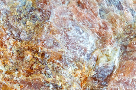 Macro shooting of natural gemstone. The texture of the mineral andalusite. Abstract background