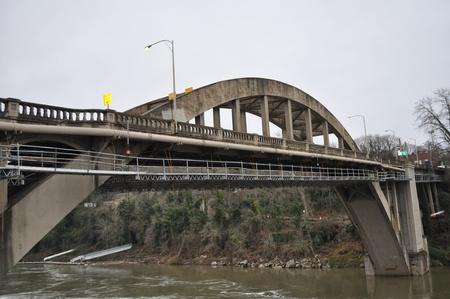 willamette: Bridge Near Willamette Falls