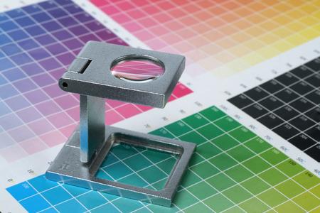 Press color management - print