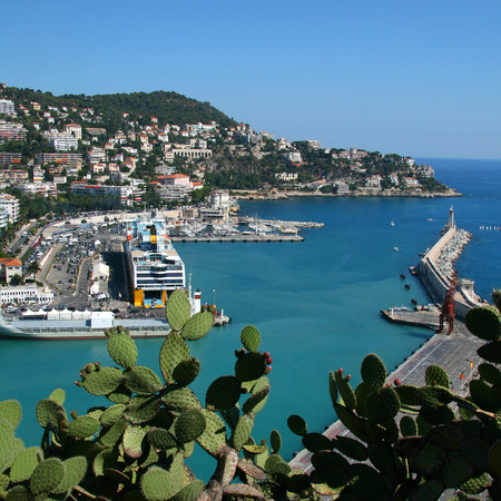 Harbor in Nice - France EU
