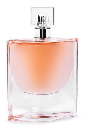 perfume spray: perfume spray bottle with atomizer, isolated on white background