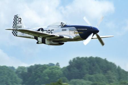 パルドゥビツェ、チェコ共和国 - 2016 年 5 月 29 日: 航空フェアと世紀の空気航空機 P 51 D マスタング aircraf 戦闘、パルドゥビツェ、チェコ共和国 2016  報道画像