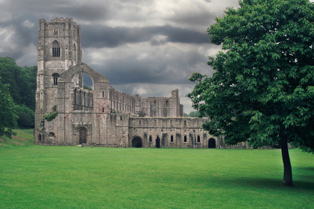 Brunnen-Abtei - Yorkshire - England