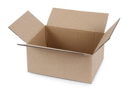 A view of an empty paper box. Reklamní fotografie